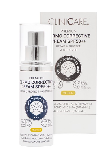 Cliniccare PREMIUM Dermo Corrective Cream SPF50 - Advanced Skincare | Germaine de Capuccini | Luxurious Skin Care